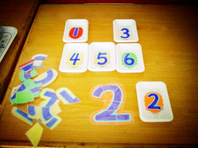 幼儿园数学区玩教具制作