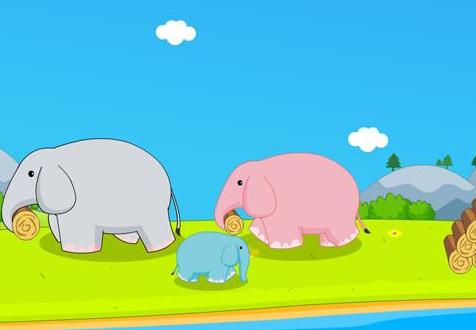 每天一个儿童小故事~《想飞的小象》