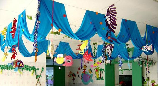 幼儿园走廊吊饰还可以这样有创意