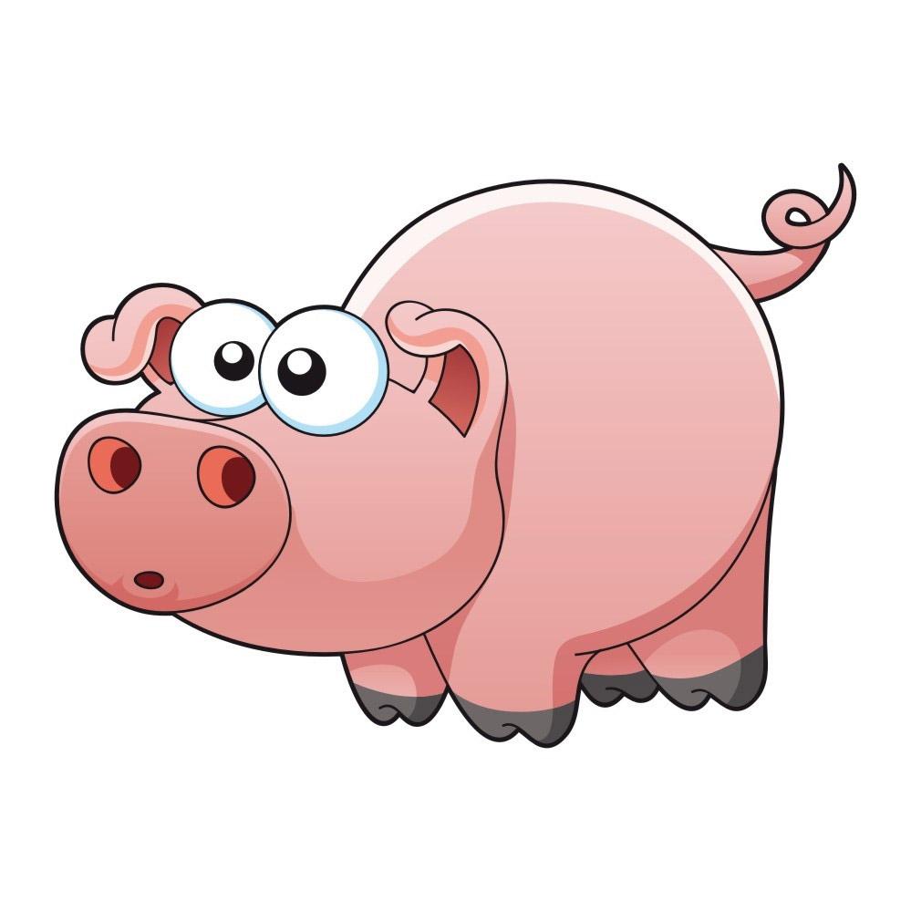 猪-卡通版