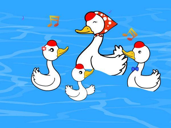 鹅-卡通版图片