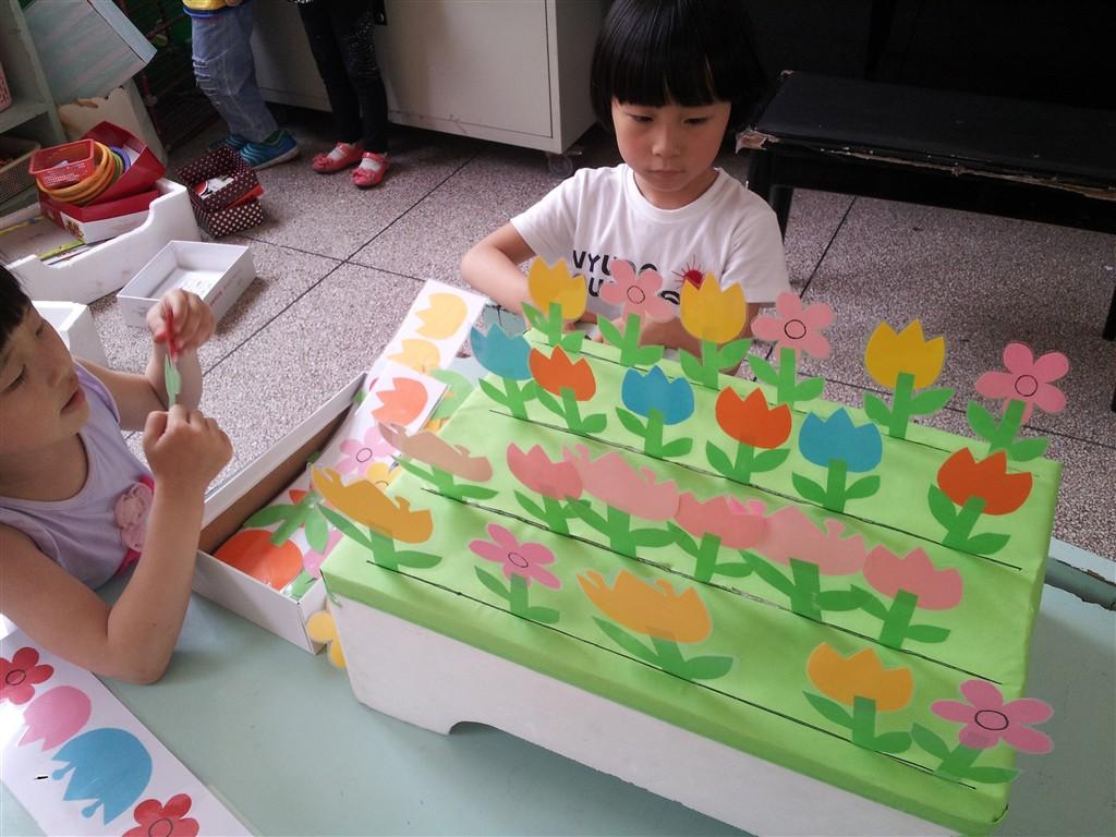 幼儿园大班填充风景画