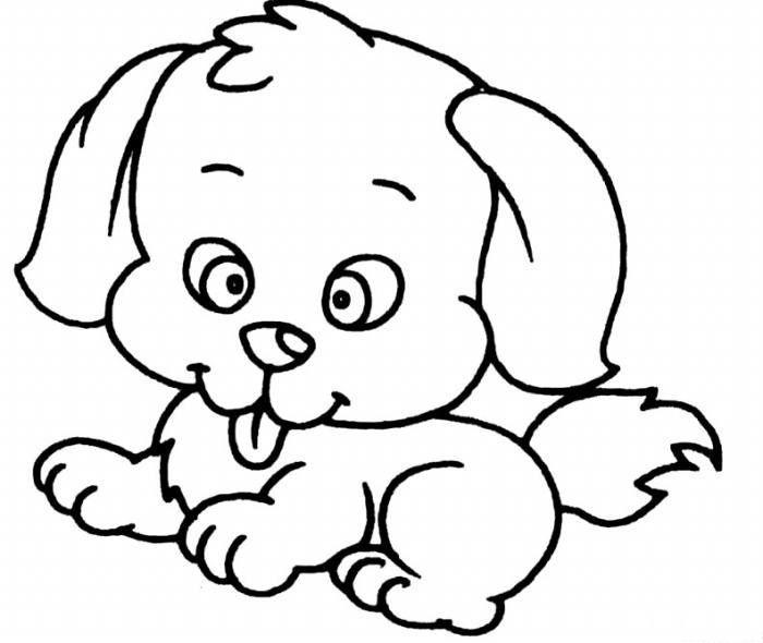 狗-简笔画