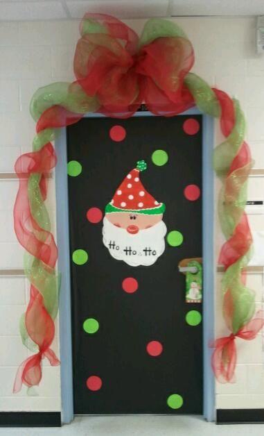 圣诞节教室门装饰大放送啦!超全哦!-幼师宝典官网