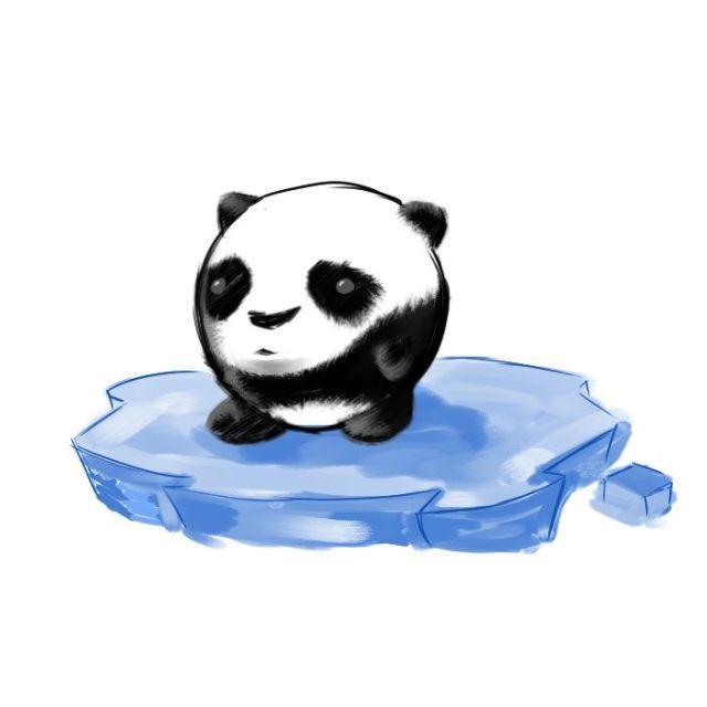 熊猫-手绘版