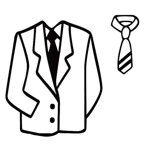 服装设计图 铅笔画男士