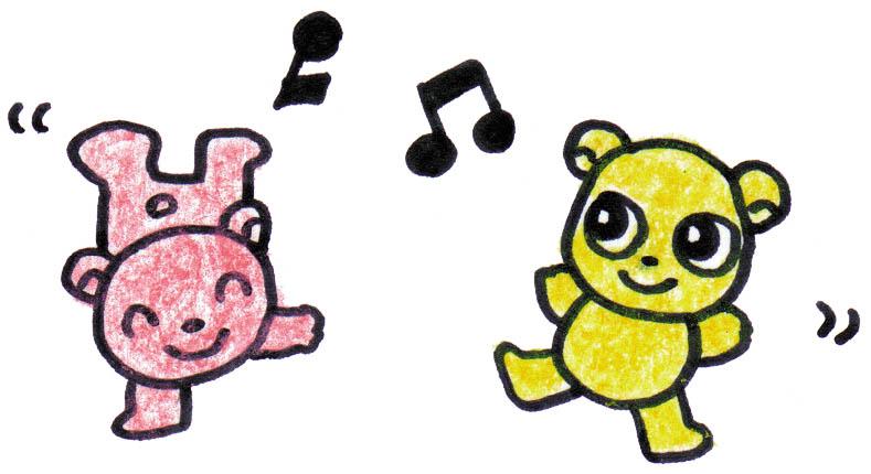 小动物唱歌小图片①