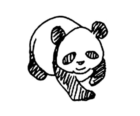熊猫-简笔画版