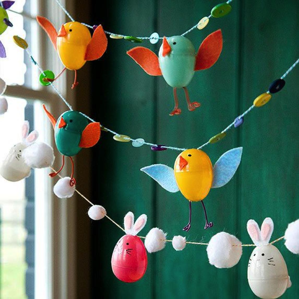 简单可爱的小动物——春天吊饰
