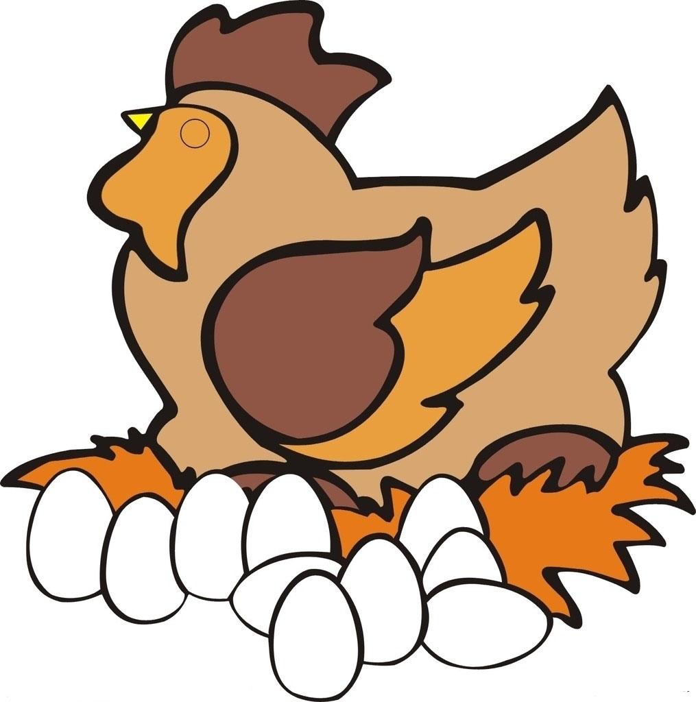 鸡-卡通版