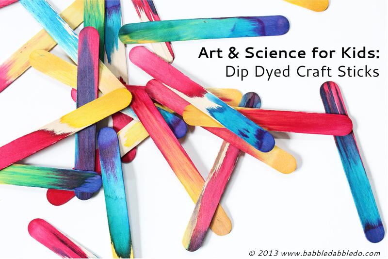 科学小实验 | 学习毛细现象,制作幻彩雪糕棍