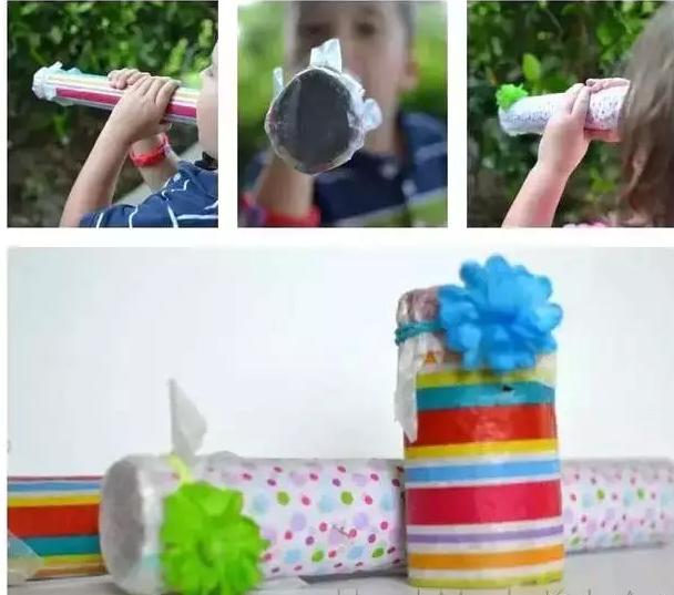 手工制作幼儿器械沙锤