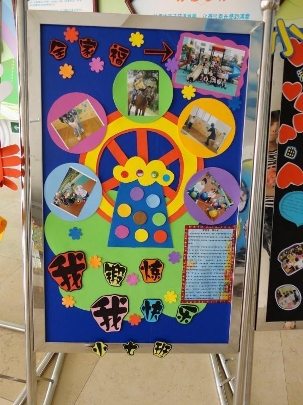 幼儿园主题展板系列图片展