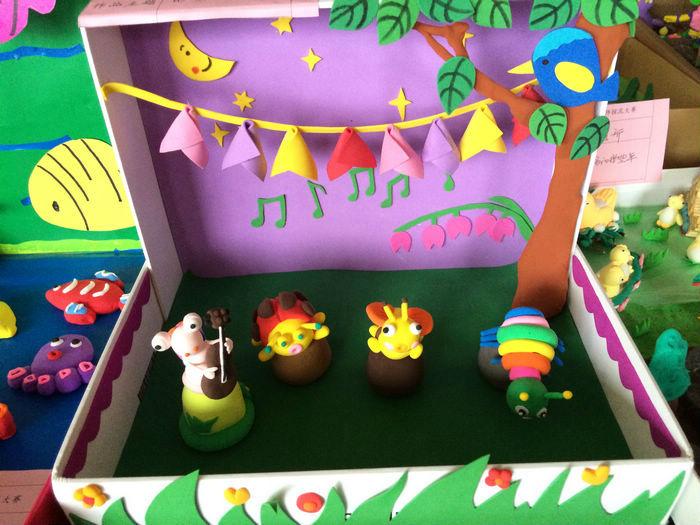 幼儿园美工作品 图片合集图片