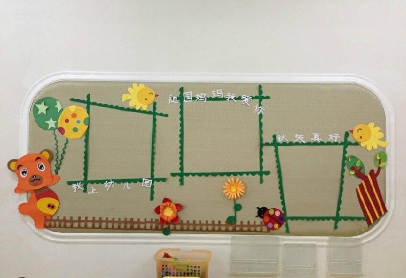 幼儿园家园联系栏布置