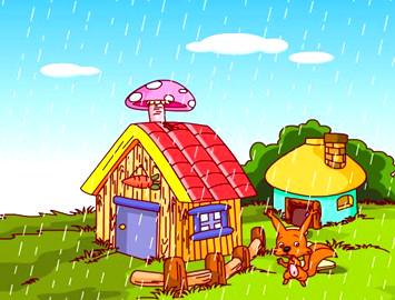 幼儿小故事–木房子