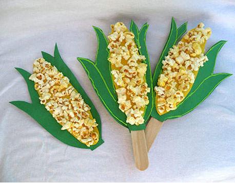 手工制作玉米棒步骤