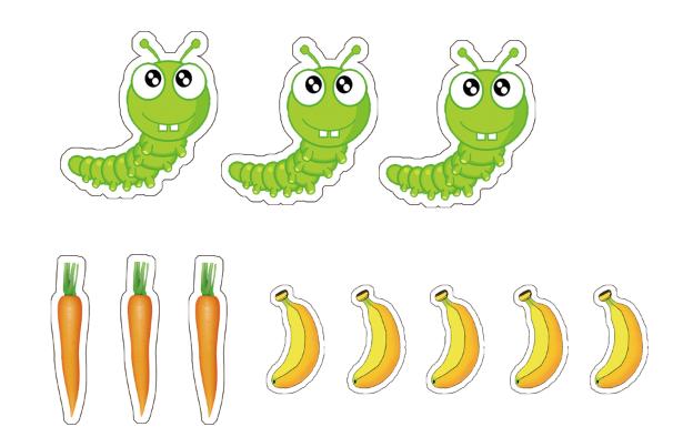 幼儿园大班科学活动:《给动物找食物》