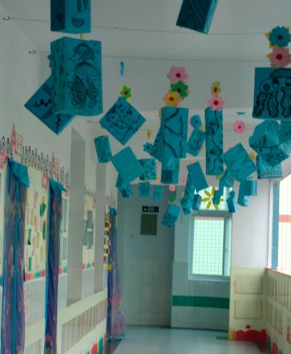 天空中的风景-幼儿园吊饰设计欣赏