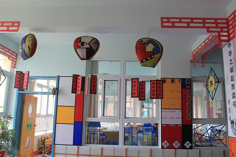 经典国学馆环境创设——走廊吊饰篇