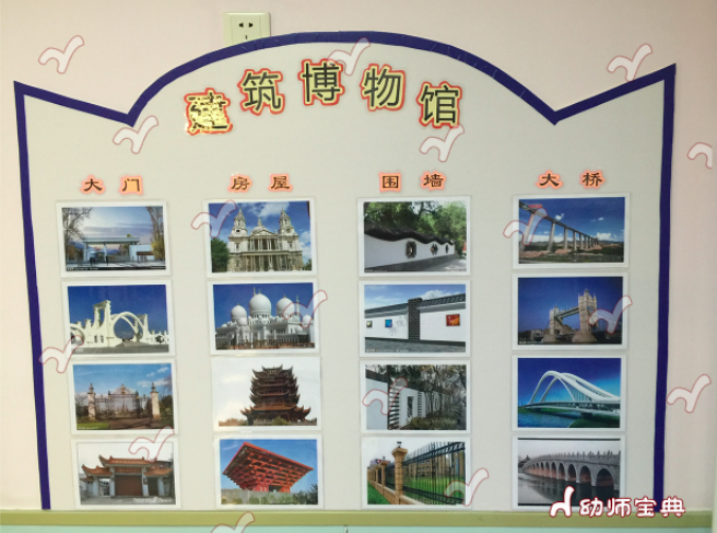 中班建构区进区规则及墙面设计图片
