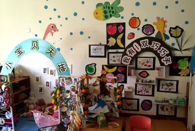 幼儿园秋天主题的吊饰