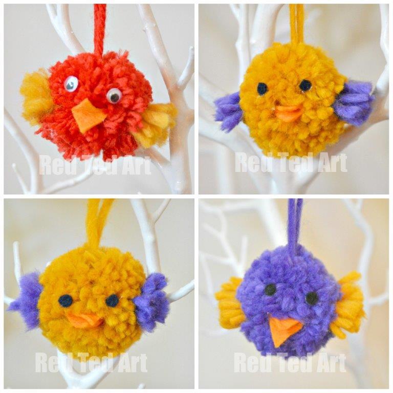 【毛球吊饰】萌成球的小动物们