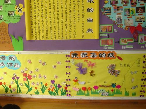 走进纸王国主题墙设计-幼师宝典官网