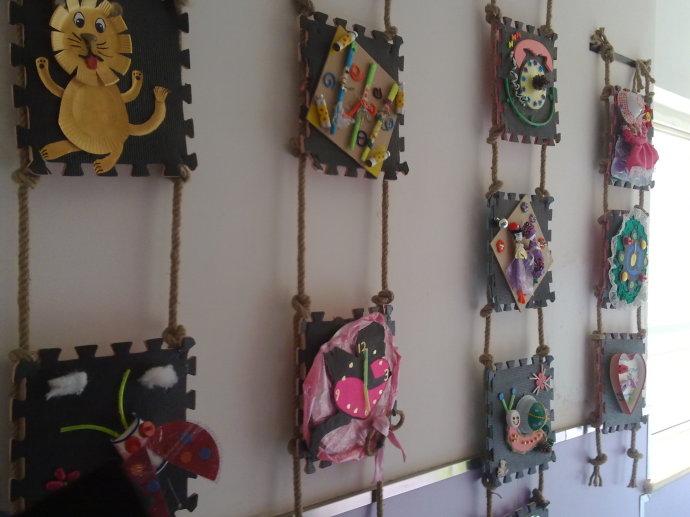 幼儿园蛋托环境装饰