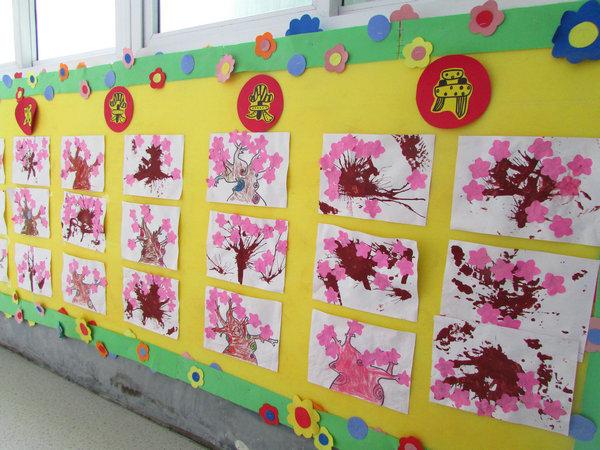 春季主题墙及墙面布置-幼师宝典官网