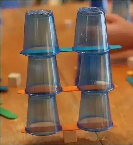 纸杯搭建步骤图