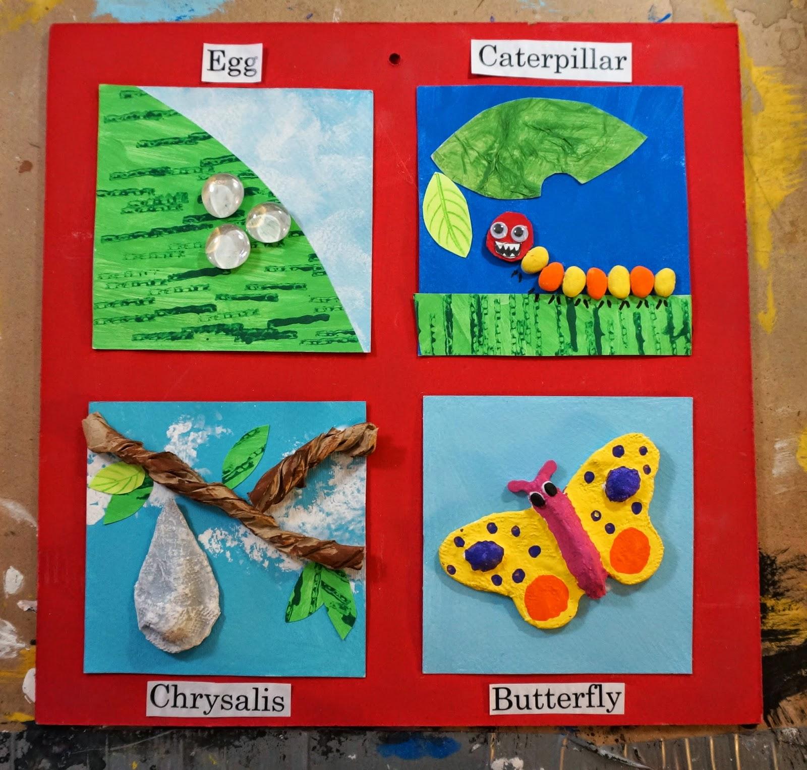 蚂蚁手工制作卡纸图片