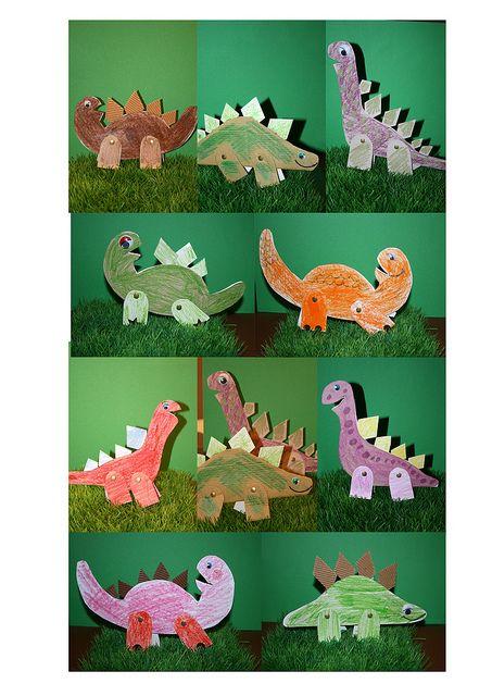 恐龙彩泥手工制作