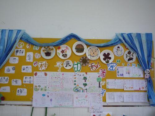 可爱的种子主题墙
