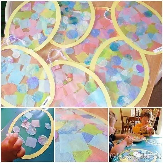 撕纸粘贴画 | 撕着粘着,让孩子拼出精彩!