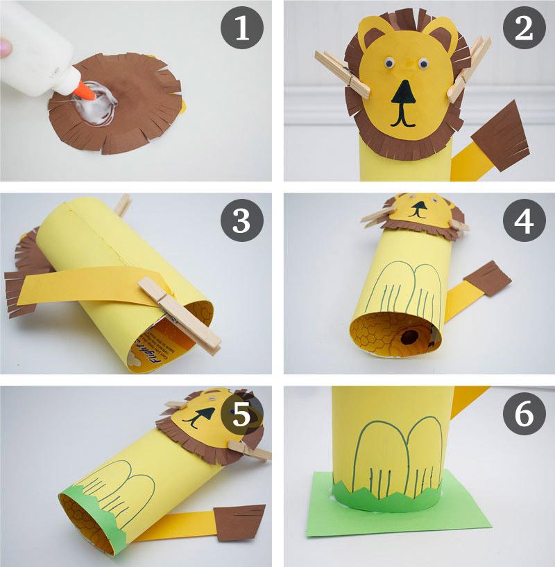 熊猫纸盘头饰制作步骤
