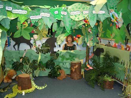 """打造""""奇幻森林""""主题教室图片"""
