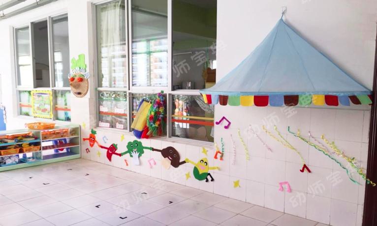 幼儿园主题墙手牵手图片