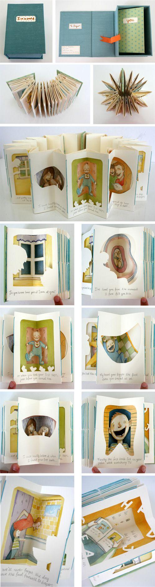 书折步骤及图片