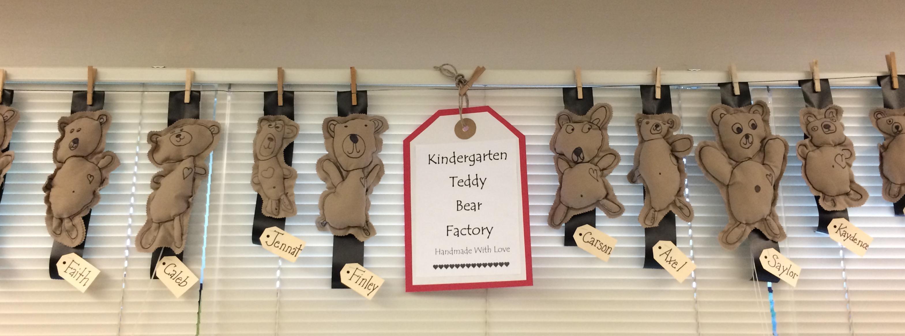 听说国外幼儿园喜欢用小熊主题周迎开学哦~(环创