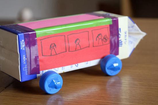 手工车 | 汽车火车消防车,货车客车和谐号,手工车大全图片