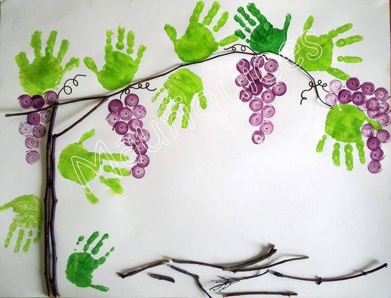葡萄可以做成吊饰,还可以做成边框.