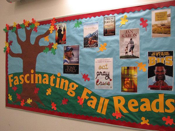 环创 45张有料素材图,帮你搞定秋天主题墙,读书角和家园栏!