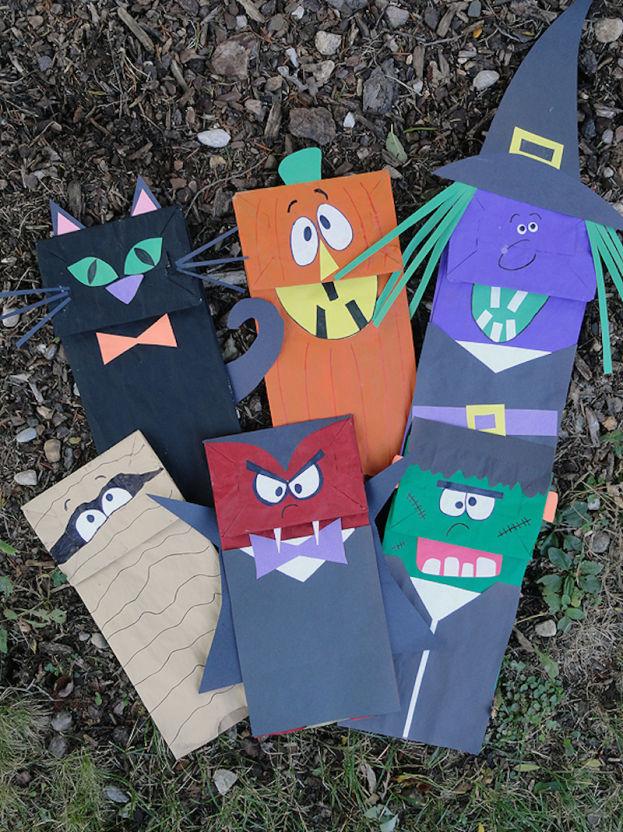 动物纸袋面具步骤