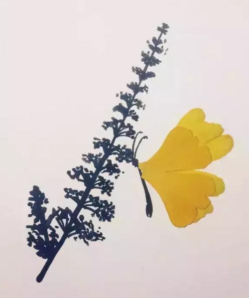 银杏叶手工 | 童话之树,遇见初冬的金黄