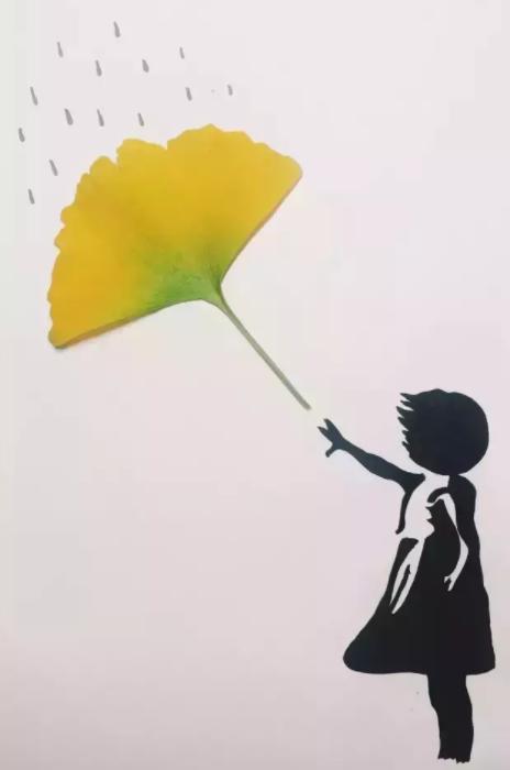 银杏叶手工 | 童话之树,遇见初冬的金黄图片