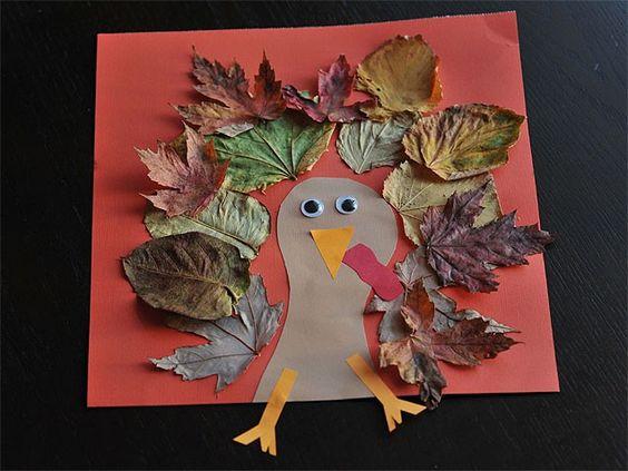 美丽的秋天彩纸手工制作作品