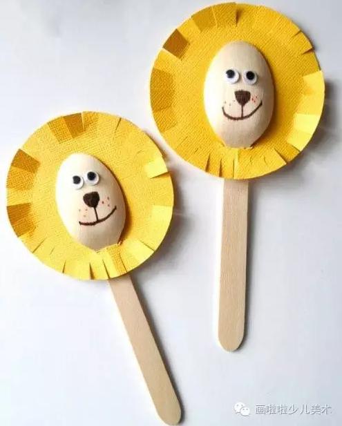 勺子手工 | 幼儿园最创意的材料之一!家长老师都忍不住收藏了