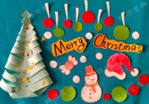 环创 | 圣诞节经典墙饰4款
