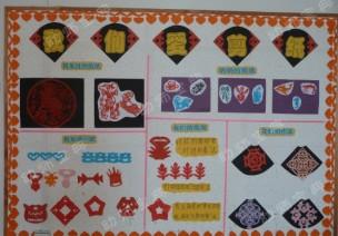 环创 | 中班春节主题墙+主题活动教案《春节真热闹》